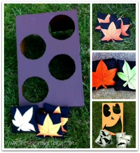 {How To} Fall Fun Toss Game DIY