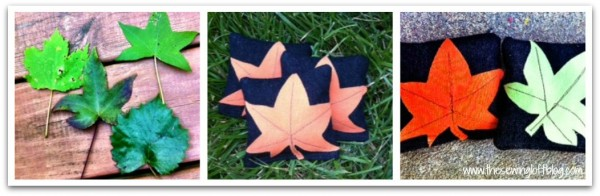 Fall Toss Game - The Sewing Loft