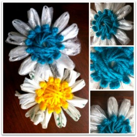 {How To} Plarn Flowers
