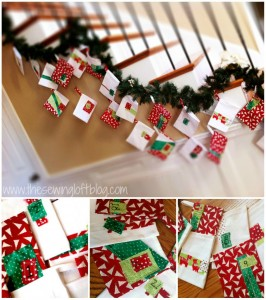 {How To} Hanging the Holiday Advent Calendar
