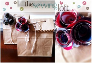 Easy Gift Wrap -The Sewing Loft