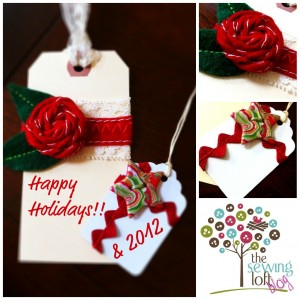 Happy Holidays!! Easy Holiday Gift Tags