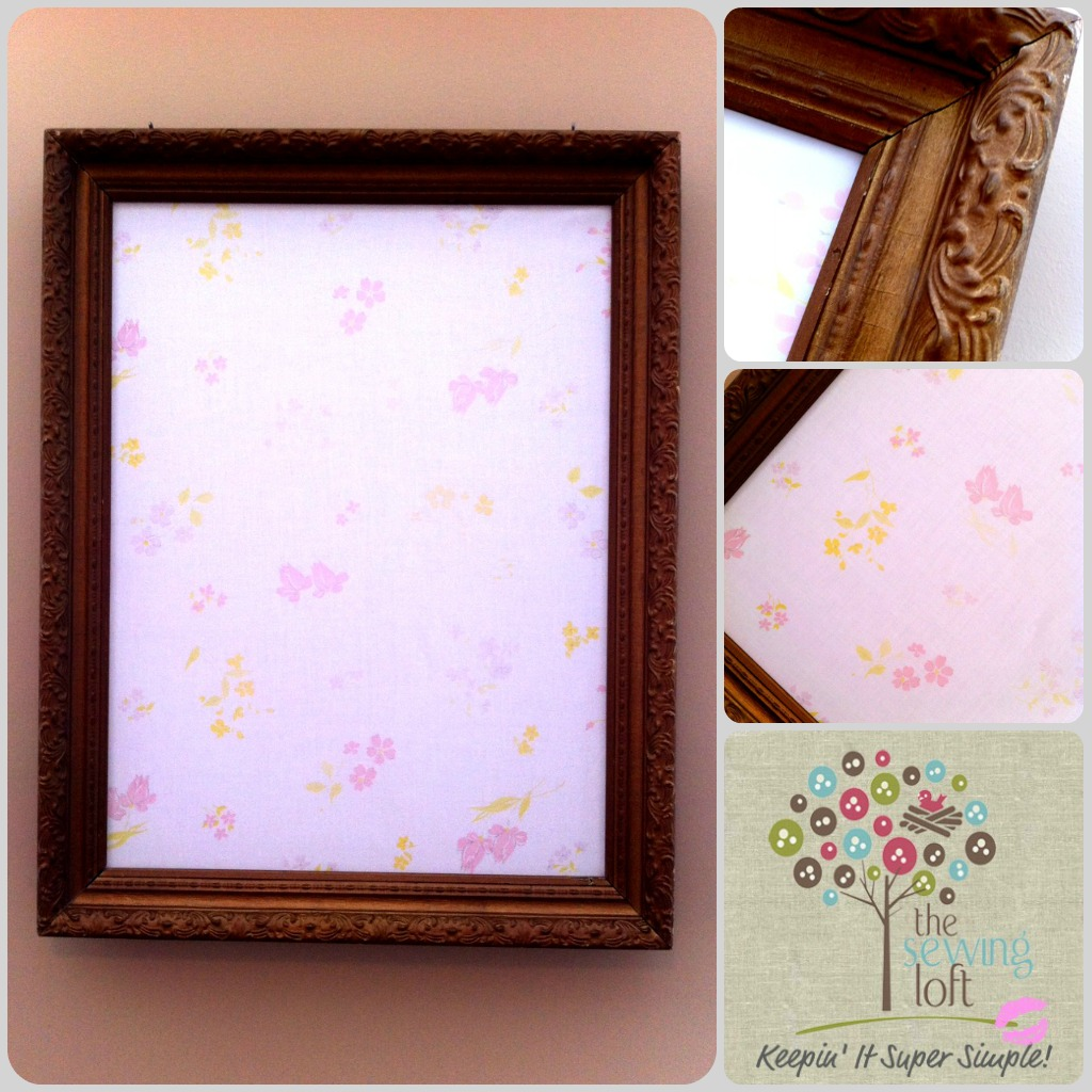 Fabric Cork Board