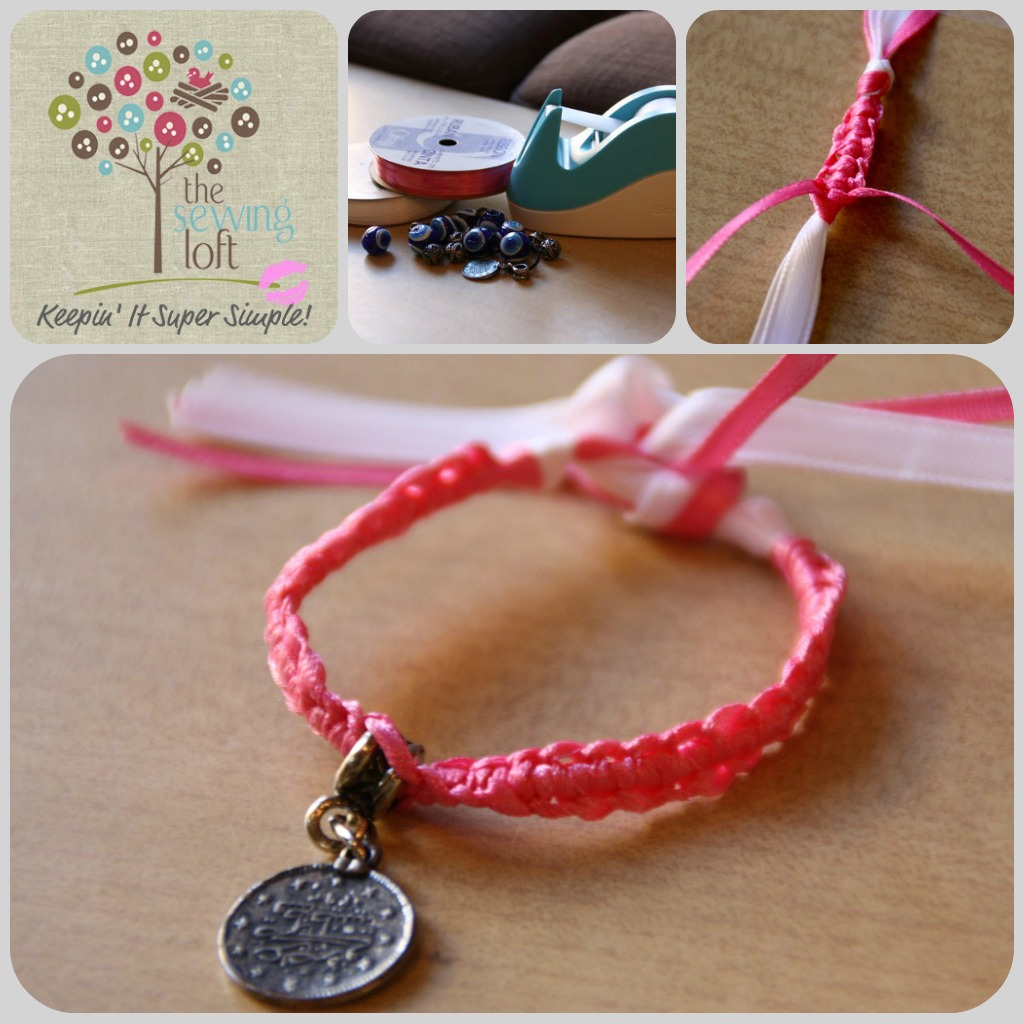 Friendship Bracelet | The Sewing Loft