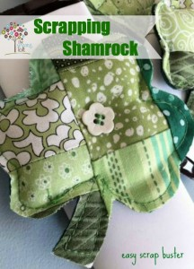 {How To} Scrappy Shamrock – St. Patty's Style
