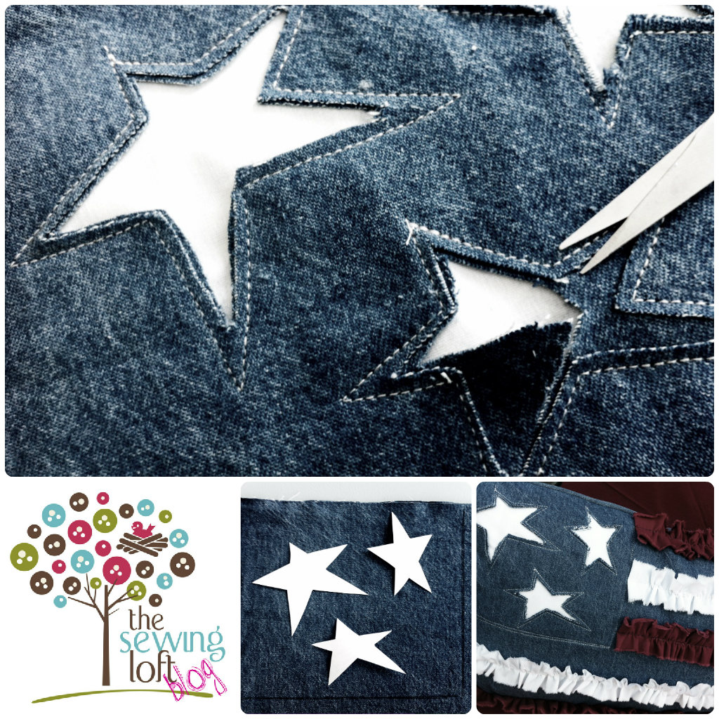 Learn how to Reverse Applique on The Sewing Loft