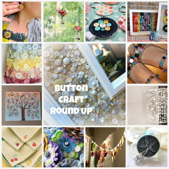 Button Craft Projects - TheSewingLoftBlog.com