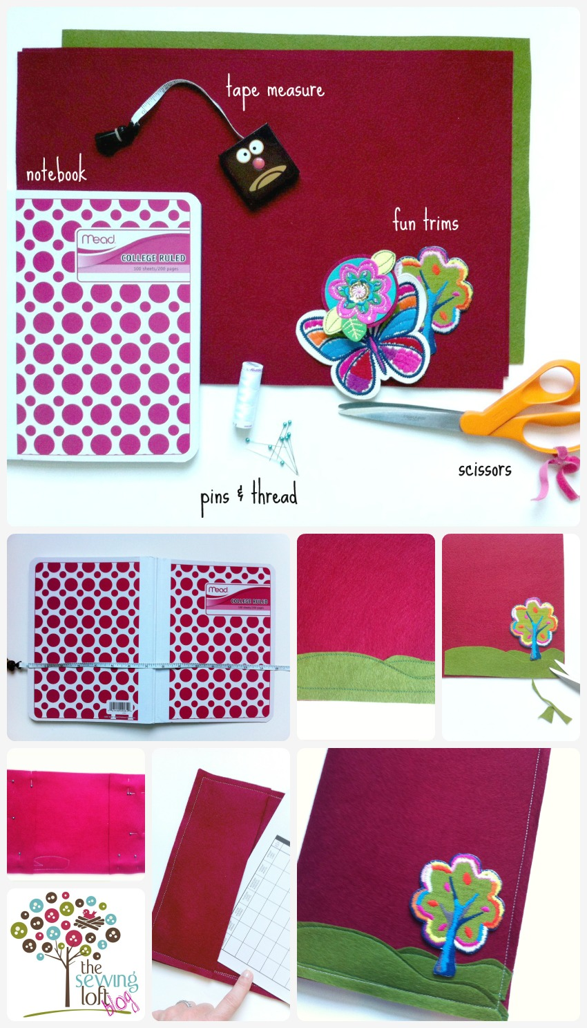 Book Back Cover Ideas ~ Quick book cover tutorial for back to school