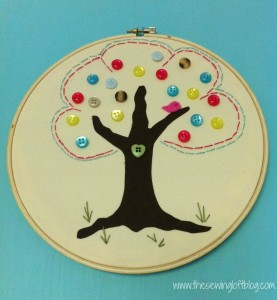 {How To} Button Tree Art