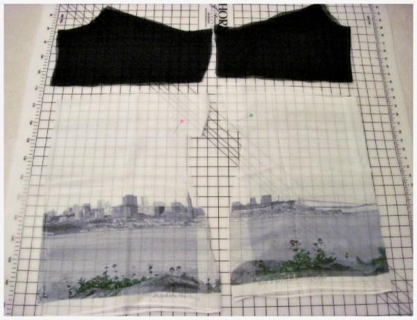 Cut Fabric - Sewing Needles