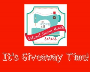 National Sewing Month Giveaway -The Sewing Loft