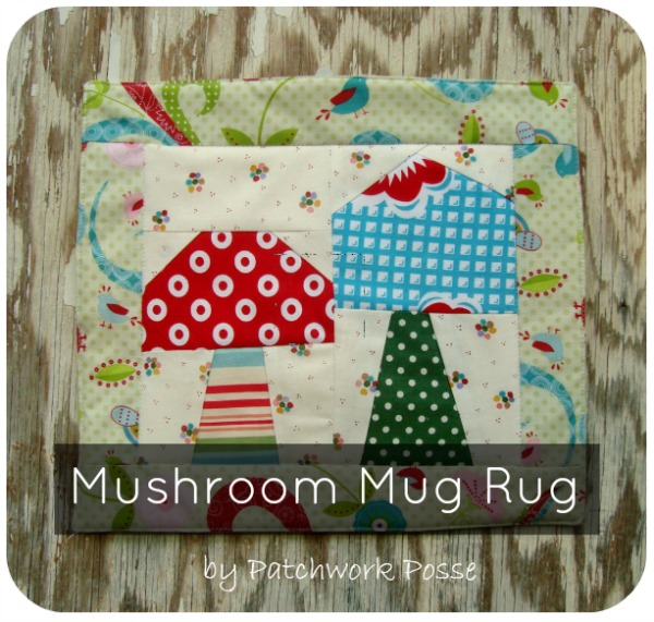 Mug Rug National Sewing Month | The Sewing Loft