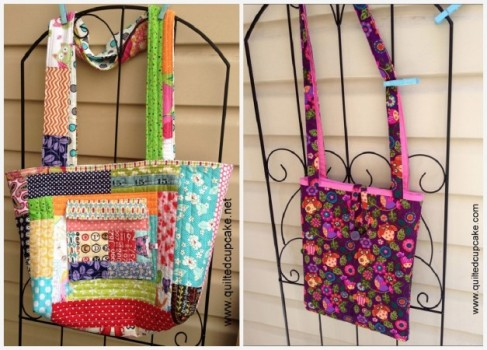 Quilted Cupcake Bags