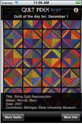 Quilt Index To Go on iTunes