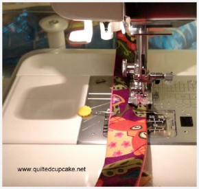 Stitching Bias Tape