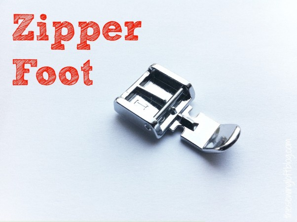 Zipper Foot Project | The Sewing Loft