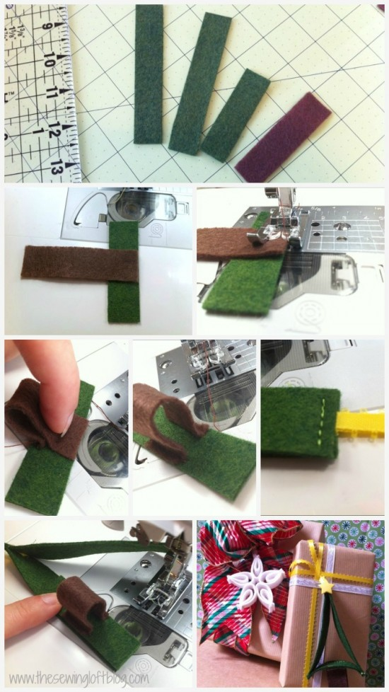 Christmas Tree Ornament - The Sewing Loft