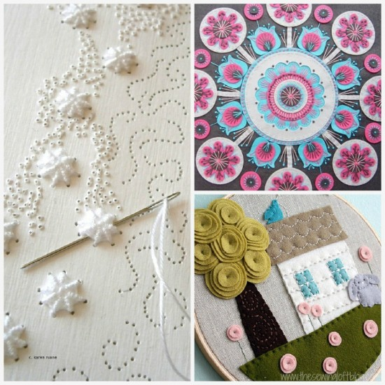 Hand Embroidery Sew Many Thoughts - The Sewing Loft