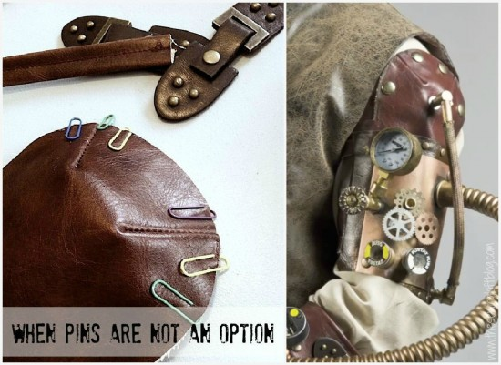 Steampunk fashion armband - The Sewing Loft