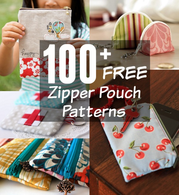 100 Zipper Bag Patterns | The Sewing Loft