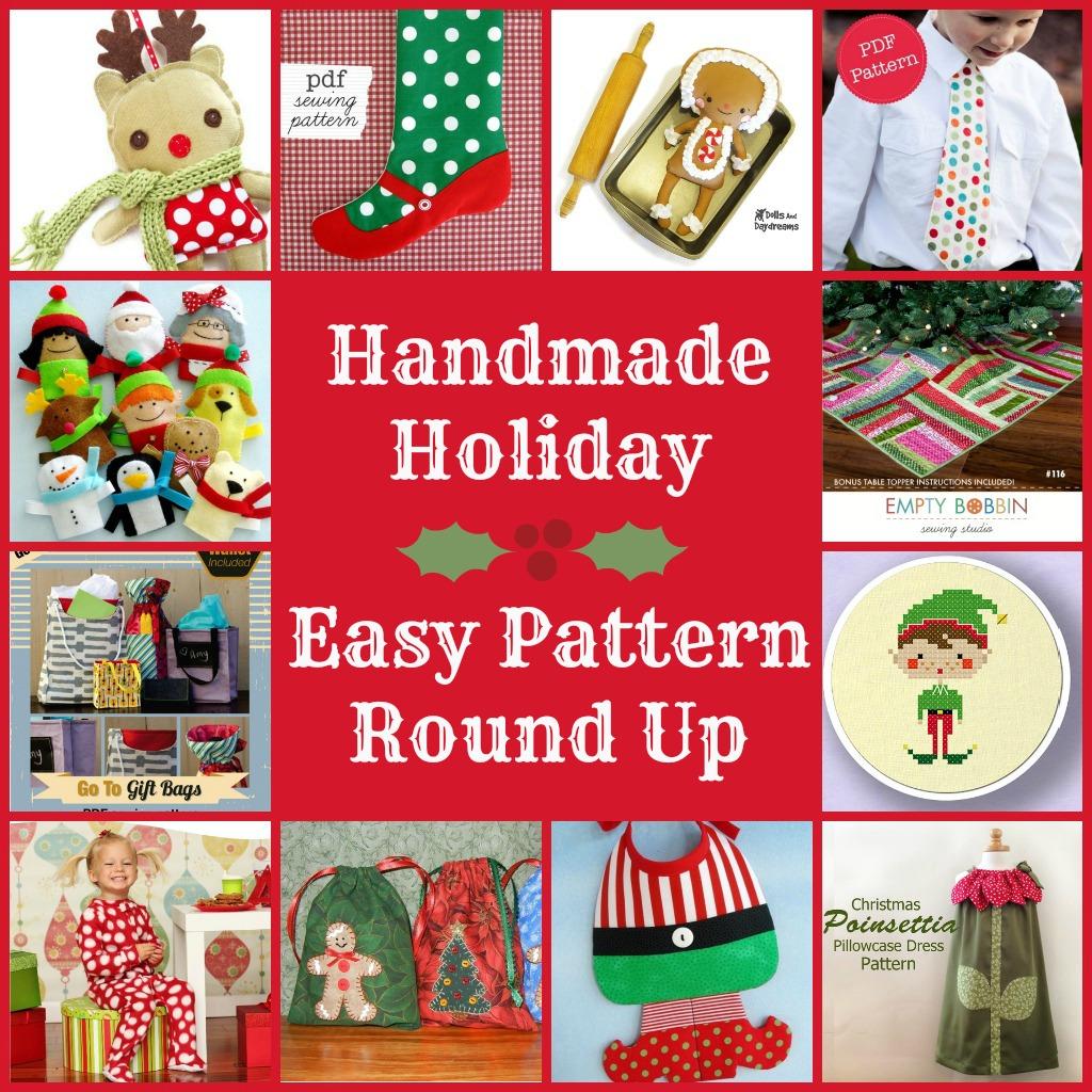 Easy sew holiday patterns round up of easy christmas patterns easy sew holiday patterns the sewing loft jeuxipadfo Choice Image