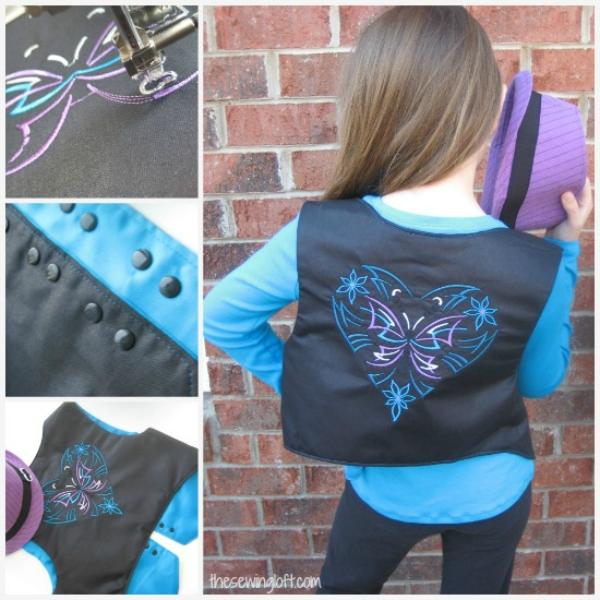 rocking vest pattern thesewingloftblog.com #diy #sewing