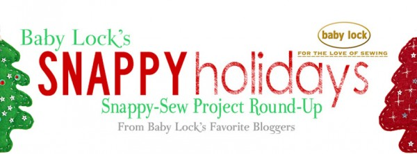 Baby Lock's Snappy Holidays quick project round up