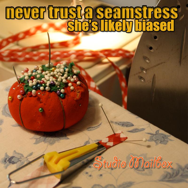 Biased Seamstress via The Sewing Loft