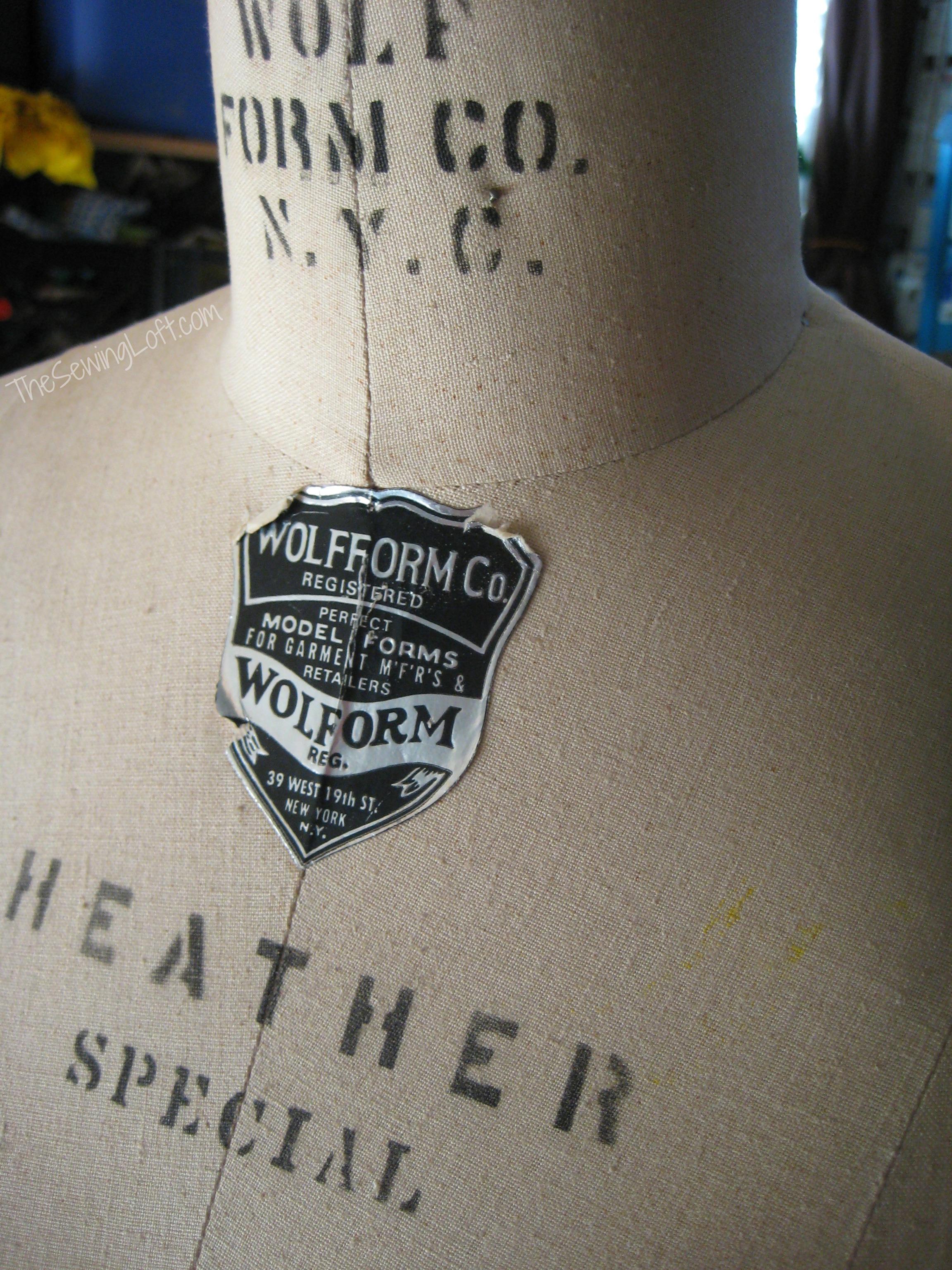 The Sewing Loft Dress Form