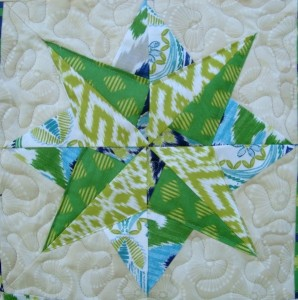 Quick as a Fox Block 4- Paper Pieced Star