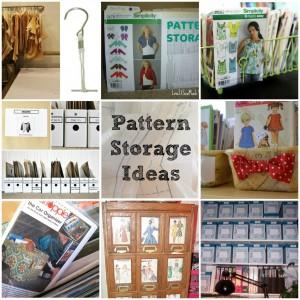 Pattern Storage Round Up on thesewingloftblog.com
