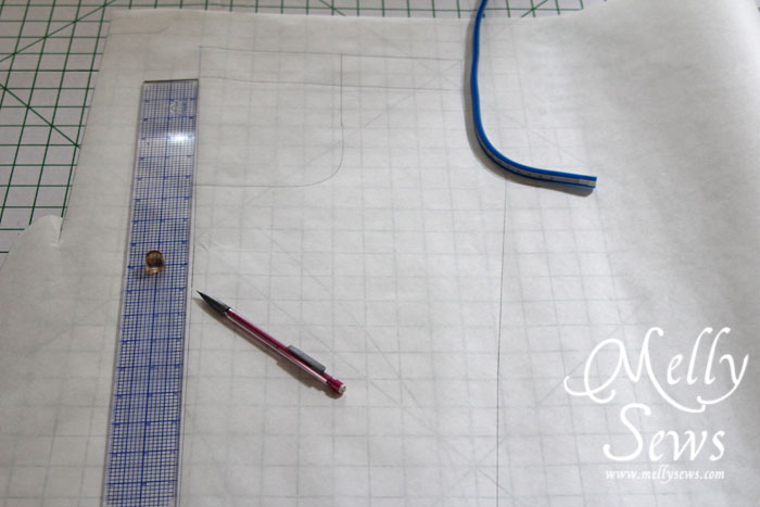 pajama pant pattern drafting