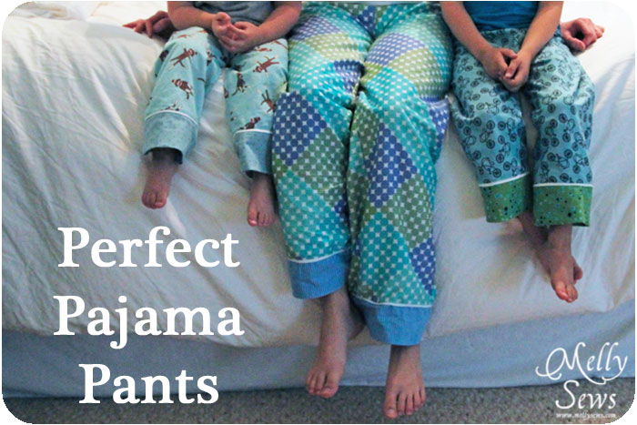 Perfect Pajama Pants via TheSewingLoft.com