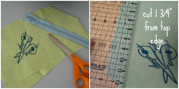 Easy Zipper Bag Pattern
