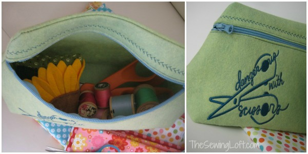 Zipper Bag The Sewing Loft