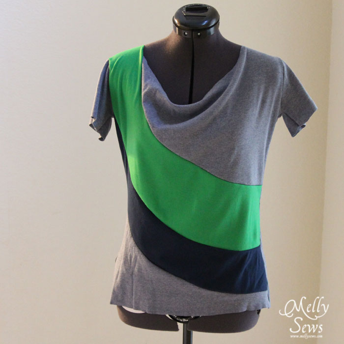 Learn how to create and sew the perfect T-Shirt