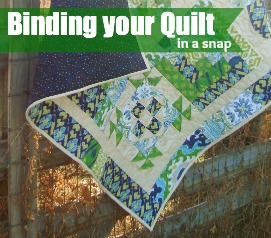Binding Your Quilt -Quick as a Fox Quilt Along