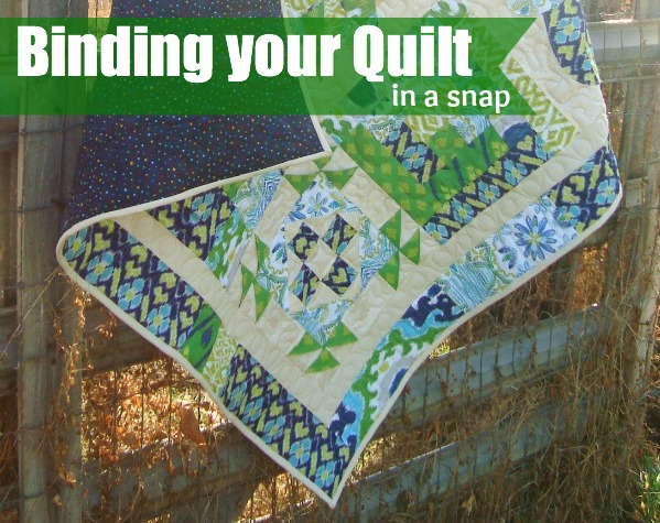 Binding your quilt | The Sewing Loft