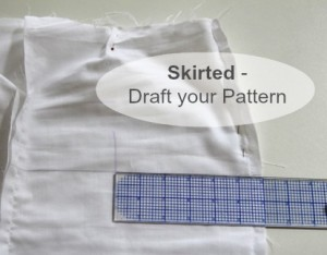 How to Draft a Skirt Pattern