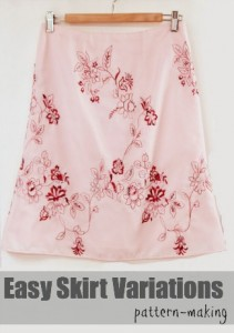 Learn easy skirt variations | TheSewingLoft