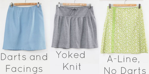 skirts by Melly Sews