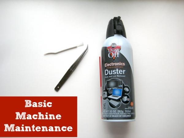 Machine Maintenance   The Sewing Loft