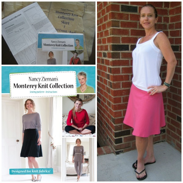 Monterey Knit Collection Skirt The Sewing Loft