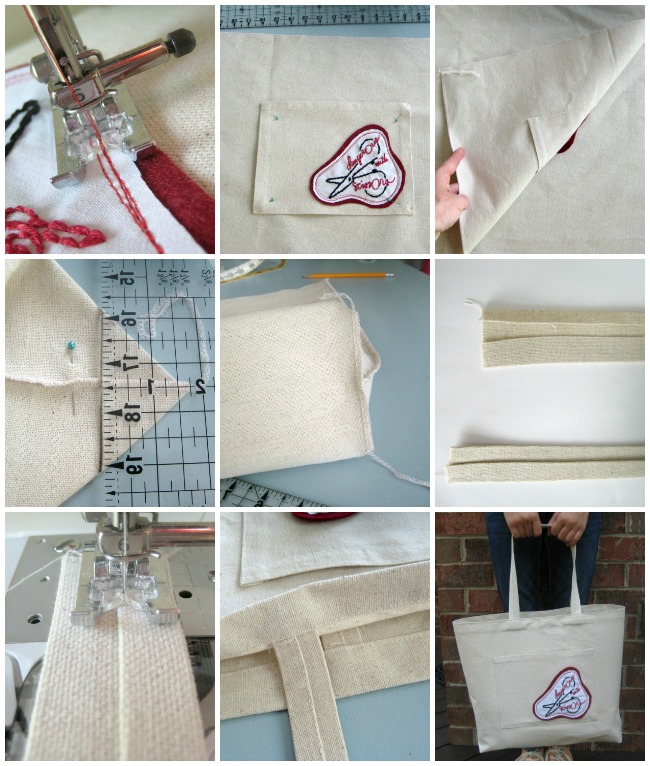 Canvas Tote Bag Instructions | The Sewing Loft