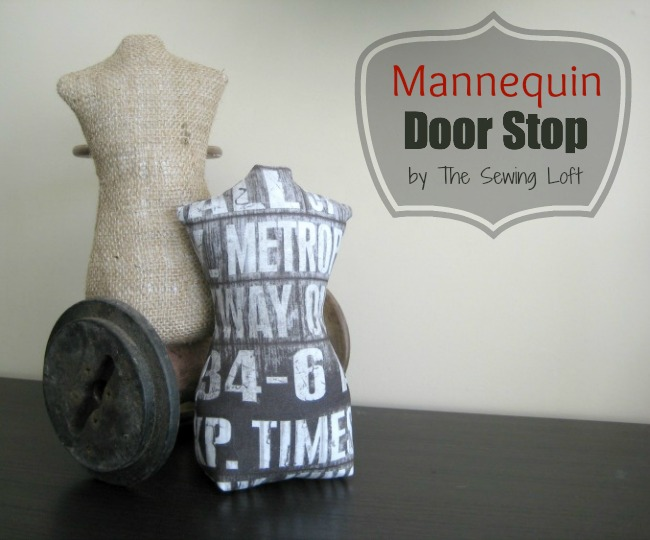 Mannequin Door Stop | The Sewing Loft