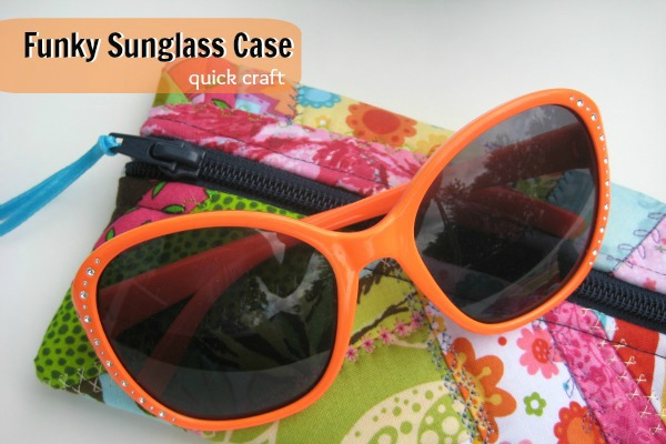 Funky Sunglass Case   The Sewing Loft
