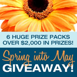 Spring Into May Giveaway | The Sewing Loft
