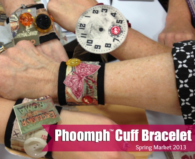 Phoomph Cuff Bracelet | The Sewing Loft