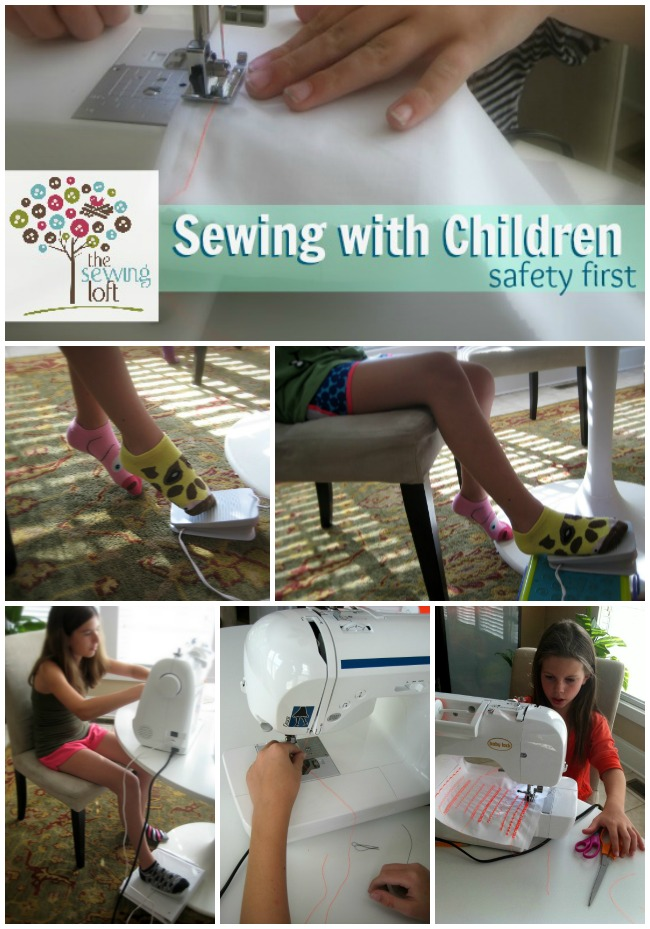 Sewing With Children Safety Tip | The Sewing Loft