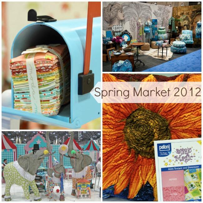 Spring Market 2012 Booths